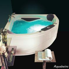 Cette baignoire balnéo d'angle 2 places Sicilia apportera une touche de design à votre salle de bain. Son esthétisme et son système balneo ultra performant la rendra indispensable. Baignoire balneo d'angle 2 places 155x155cm SICILIA - NVS1 - VICTORY SPA : http://www.ma-baignoire-balneo.com/baignoire-balneo-dangle-155-155-sicilia-victory-spa-xml-1081_1083-855.html
