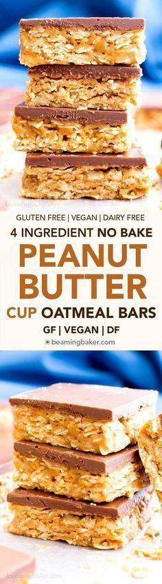 No bake GF PB bars