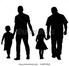 Man Holding Little Girls Hand Isolated Stock Vectors & Vector Clip Art Girls Holding Hands, Hand Silhouette, Single Club, Golf Stance, Used Golf Clubs, Find Man, Girls Hand, Golf Tips, Easy Workouts