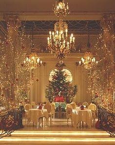 Christmas Tea at the London Ritz Carlton