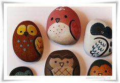 Ideas pintar piedras