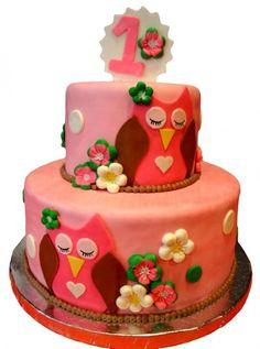 Owl Cake -- Design Dazzle