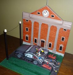 Back to the Future Cake | Back to the Future cake :)