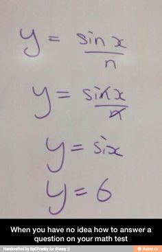 When you don't know how to solve a math problem