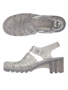 5a42248e0ff Juju Babe Jelly Sandals Glitter Jelly