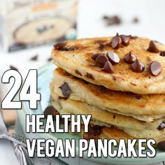 The Definitive Collection of Healthy Vegan Pancakes Recipes from around the web. Find your perfect pancake from this delicious and easy vegan collection!