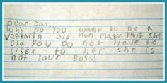 30 Hilarious Letters From Kids