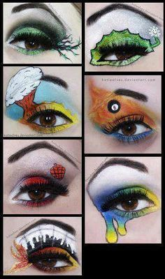 Green Day Make Up-Trying this out when I get the chance to go to a concert!
