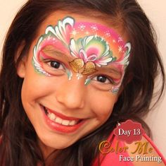 25 Days of Christmas Face Painting. Christmas bells - Color Me Face Painting