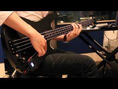 Ibanez SRKP4 equipped with Korg® mini kaoss pad 2S - YouTube