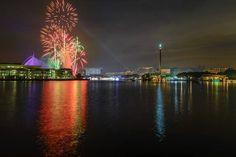 Fireworks At Putrajaya - Millenium Monument | Putrajaya, Malaysia