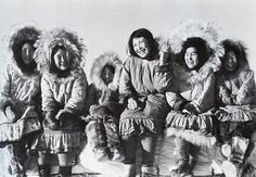 photos by richard harrington in inukjuak (eastern canadian arctic) of the padleimut tribe. they were taken in 1947, just as the canadian government was abandoning its arctic policy of benign neglect, to use a nixonian phrase, and shifting to one of largely forced settlement and relocation. (the qikiqtani truth commission)