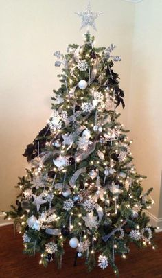 Blue Spruce tree with silver trimmings | Fan Photo | Balsam Hill