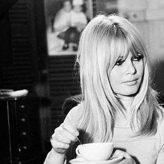 Monday, coffee and Brigitte Bardot.  #brigittebardot  #brigitte #bardot #bb  #vintage  #coffee