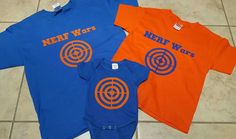 Nerf War Shirts