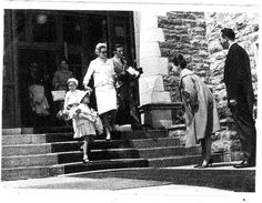 An amazing photo of Princess Grace of Monaco at in 1961 with her two children, Albert and Caroline! West Cork, Second Child, Old West, Resort Spa, Monaco, Cool Photos, Ireland, Princess, Children