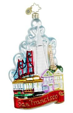 Christopher Radko 'The City by the Bay' Ornament available at Nordstrom