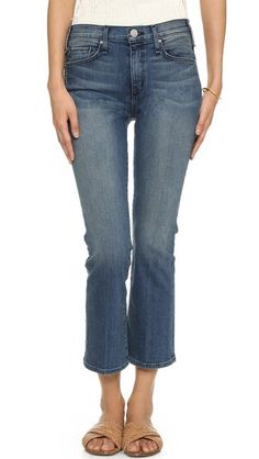 McGuire Denim Cropped Majorelle Flare Jeans