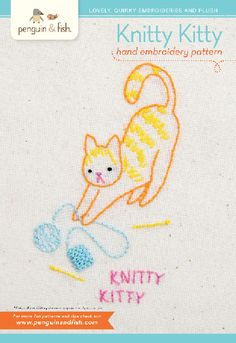 There's nothing that goes together better then crafting and kitties! Our Knitty…