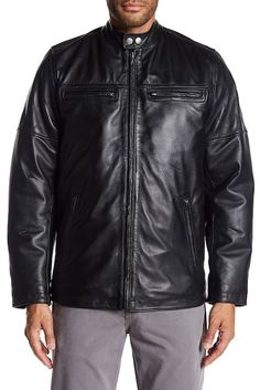 20b5b9b0f1bf Image of Rogue Men s Leather Racer Jacket