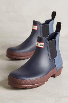 Hunter Chelsea Rain Boots - anthropologie.com