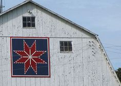 Image detail for -... see barns with large quilt blocks painted on them i love finding these