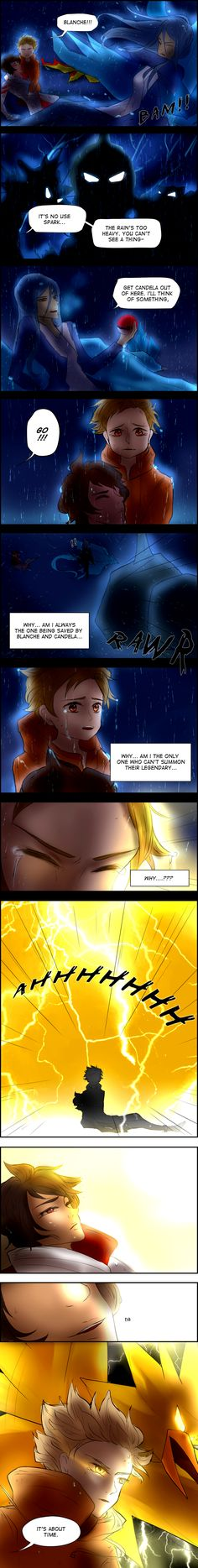 Pokemon Go Comic - Spark Awakens by yuuike on DeviantArt