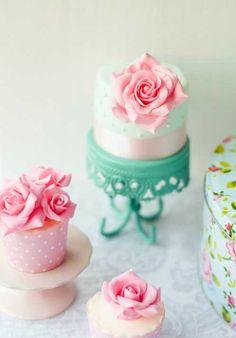 杯子蛋糕 翻糖蛋糕 翻糖饼干 B162 美食