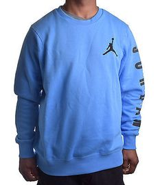 Nike Men's Jordan Classic Jumpman Crewneck Fleece Sweatshirt