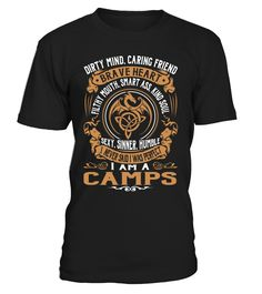 CAMPS Brave Heart Last Name T-Shirt #Camps