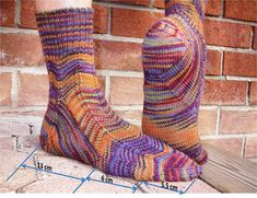 Achilles Heal by Lucia Light (Knitty Winter 2011)