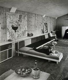 Casa Sert. Locust Valley, Long Island, New York, 1949. Josep Lluis Sert [Via]