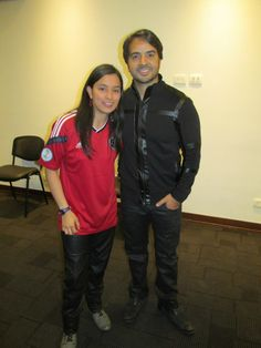 Taty directiva redes y audiovisuales junto a Luis Fonsi