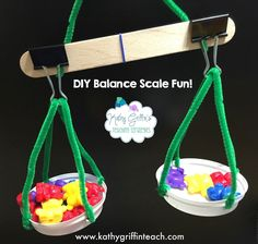 Is is a math center? Is it a science center? It's both! Make this fun DIY balance scale for your classroom. It's so easy to make that all...