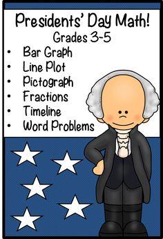 Math activities for grades 3-5!