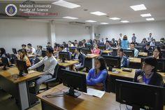 งานอบรม สัมมนา งานสารสนเทศและห้องสมุดสตางค์ มงคลสุข จัดบรรยายรายวิชา SCID518 : Generic Skills in Science Research หัวข้อ Fast track to scientific databases สำหรับนักศึกษาบัณฑิตศึกษา (ทุกสาขา) ในวันที่ 25 และ 28 สิงหาคม 2557 ณ ห้องปฏิบัติการคอมพิวเตอร์ P114