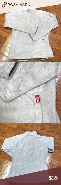 PRICE CUT! NORTH FACE Women's pullover. Very comfortable, North Face women's pullover. Cream/white in color. Gently used and in great condition, no signs of wear. The North Face Tops Sweatshirts & Hoodies