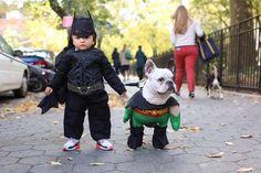 humansofnewyork:  Robin smells a crime.  The duo Gotham needs.