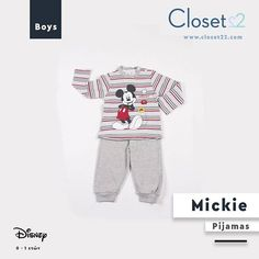 d3dc1f1642d Mickie Rules Πιτζάμα Παιδική/Βρεφική Mickey για παιδιά έως 3 ετών. - Απαλή  Αίσθηση