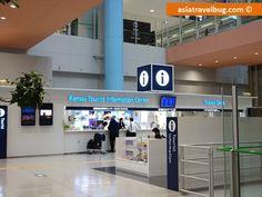 Arriving at Kansai International Airport