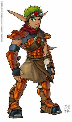 Character Design References, Character Art, Dexter, Jak & Daxter, Video Game Cosplay, Comic Book Style, Game Concept Art, Fantasy Armor, Video Game Characters