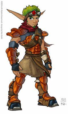 Cartoon Video Games, Video Game Characters, Dexter, Goblin, Character Art, Character Design, Jak & Daxter, Fantasy Armor, Fantasy Races