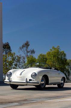 Former Porsche Speedster Race Car Now Cruises San Diego Hills Porsche 356 Speedster, Porsche 356a, Porsche Sports Car, Porsche Cars, Ferdinand Porsche, Vintage Porsche, Vintage Cars, Bugatti, Ferrari