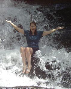 One of Rabun County's many waterfalls/streams/sliding rock areas!