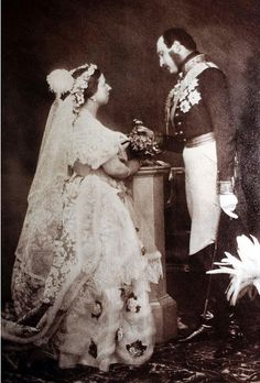 Queen Victoria and Prince Albert married in 1840.