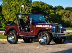 Bid for the chance to own a No Reserve: 1986 Jeep at auction with Bring a Trailer, the home of the best vintage and classic cars online. New Trucks, Lifted Trucks, Jeep Cj7, Us Cars, Classic Cars Online, Manual Transmission, Jeeps, Monster Trucks, Vintage Cars
