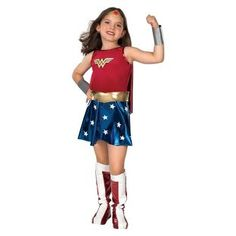 Buy Wonder Woman Dress up Outfit - 5-6 Years at Argos.co.uk, visit Argos.co.uk to shop online for Children's fancy dress costumes, Children's fancy dress
