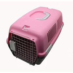 Fixture Displays Portable Dog Carrier, Pet Tote, Kennel , Travel Dog Crate12215-1 PINK -- For more information, visit image link. (This is an affiliate link) #Dogs