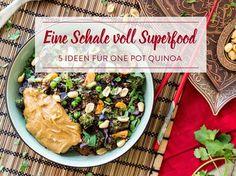 Für faule Fitness-Foodies! 5 mal One Pot Quinoa