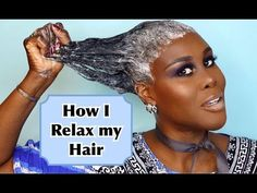 How I Relax & Style my Hair At Home | Tutorial | Fumi Desalu-Vold